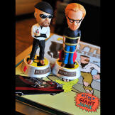 Behold the Jamie Hyneman and Adam Savage talking bobble-heads. And no,