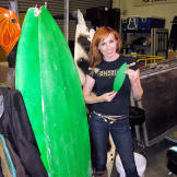 Can a surfboard tied to the top of a car be lethal? Kari Byron shows o
