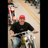 Paul Teutul Jr. hits Daytona Bike Week in 2004.