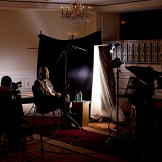 Donald Rumsfeld (Chief of Staff for President Ford) being interviewed