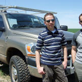Brandon and Matt with their new TIV Doghouse just after they joined th