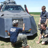 Sean introduces Matt and Brandon to the TIV2 at the start of the 2009