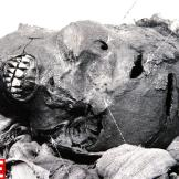 Death of a King. In an Egyptian mummy, salty substances are used to dr