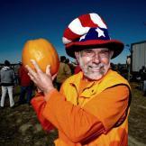 Uncle Sam loves punkins!