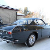 Volvo P1800, car 3 bought in Sweden and shipped to the UK.