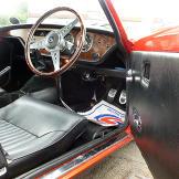 Triumph Spitfire, car 1 in UK episode.