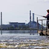 Jeremy Wade fishing in Chernobyl.
