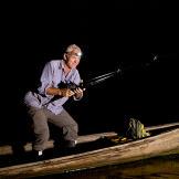 Jeremy Wade, on the hunt for stingrays.