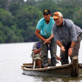 Jeremy Wade on the hunt for piranha.
