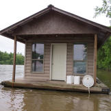 Some live in house boats, which can offer the convenience of mobility and the tranquil, laid-back river life.