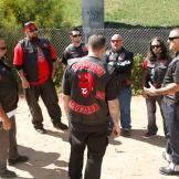 The Devils meet at an overpass