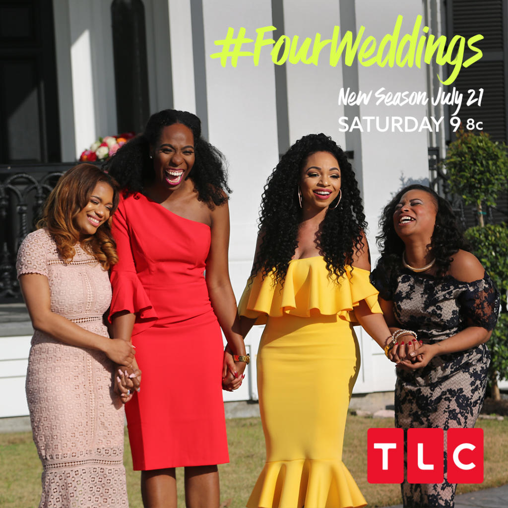 4 Weddings | Bff S Battle It Out On The Return Of Four Weddings Tlcme Tlc