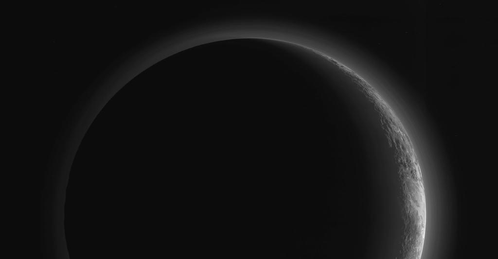 Discovery Of Pluto: Pluto's Night Side Stuns In Enhanced New Horizons Photo
