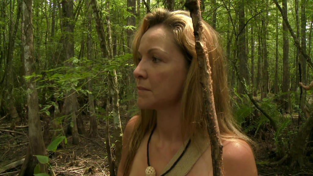 Can Naked and afraid shows ever thing not absolutely