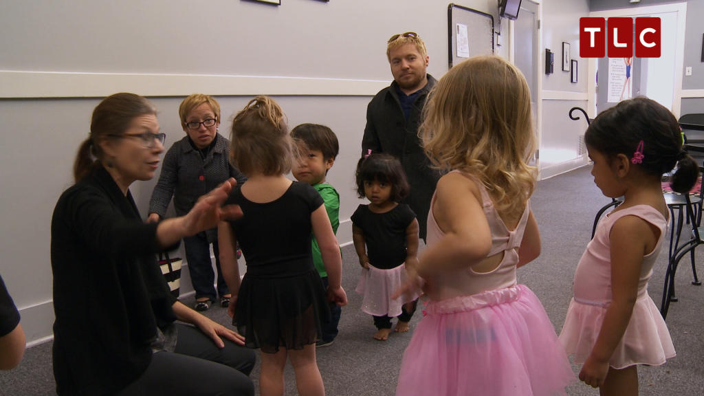Zoey at the ballet little couple tlc - Tlc house shows ...