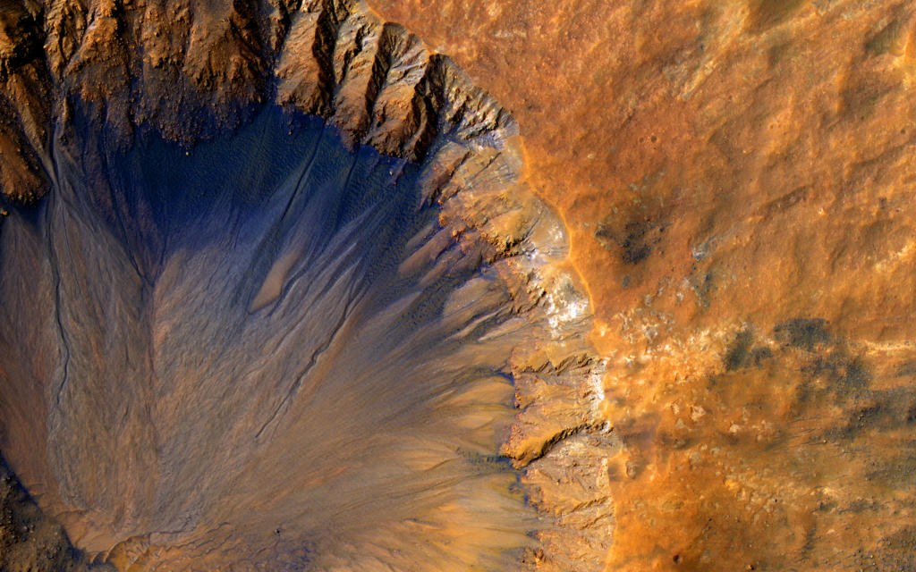 Photo of the Day: Impact Crater on Mars