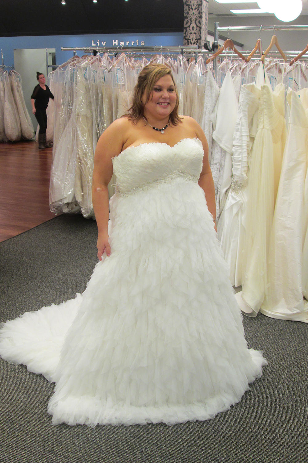 Becky Was Shopping For A Really Cool And Different Dress Her Vow Renewal
