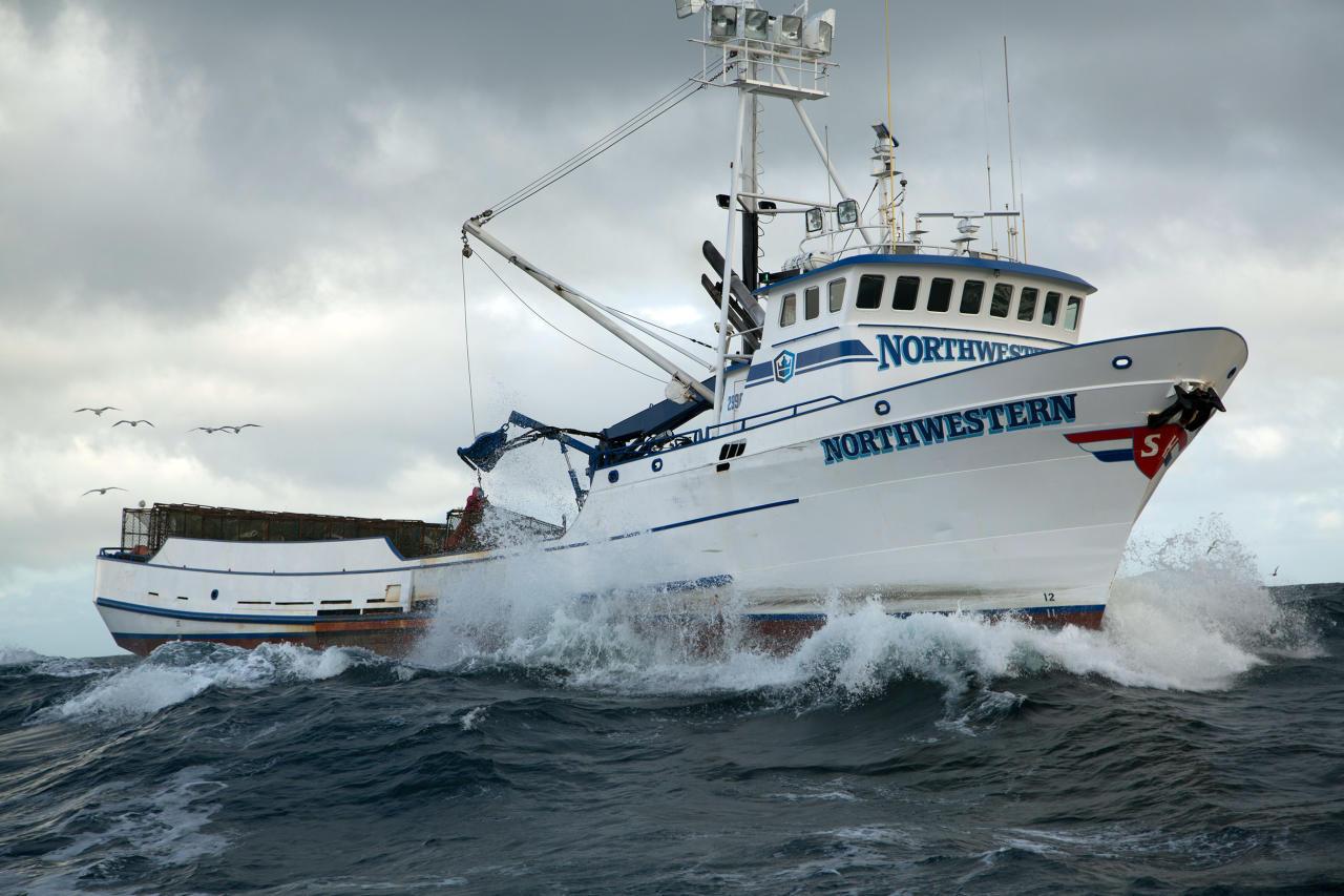 Deadliest Catch Northwestern Boat