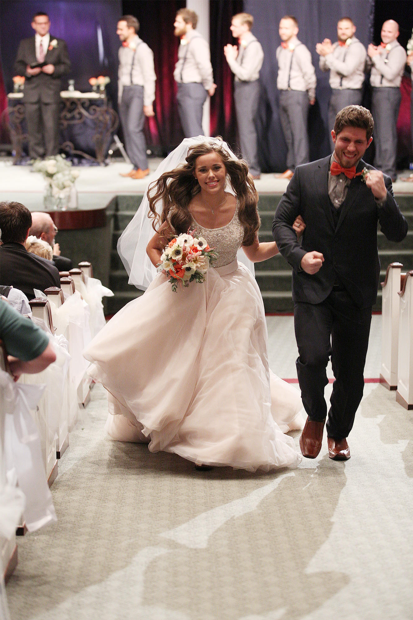 Wedding Jessa Wedding Dress jessa duggar and ben seewalds romantic wedding photo gallery 19 kids 16