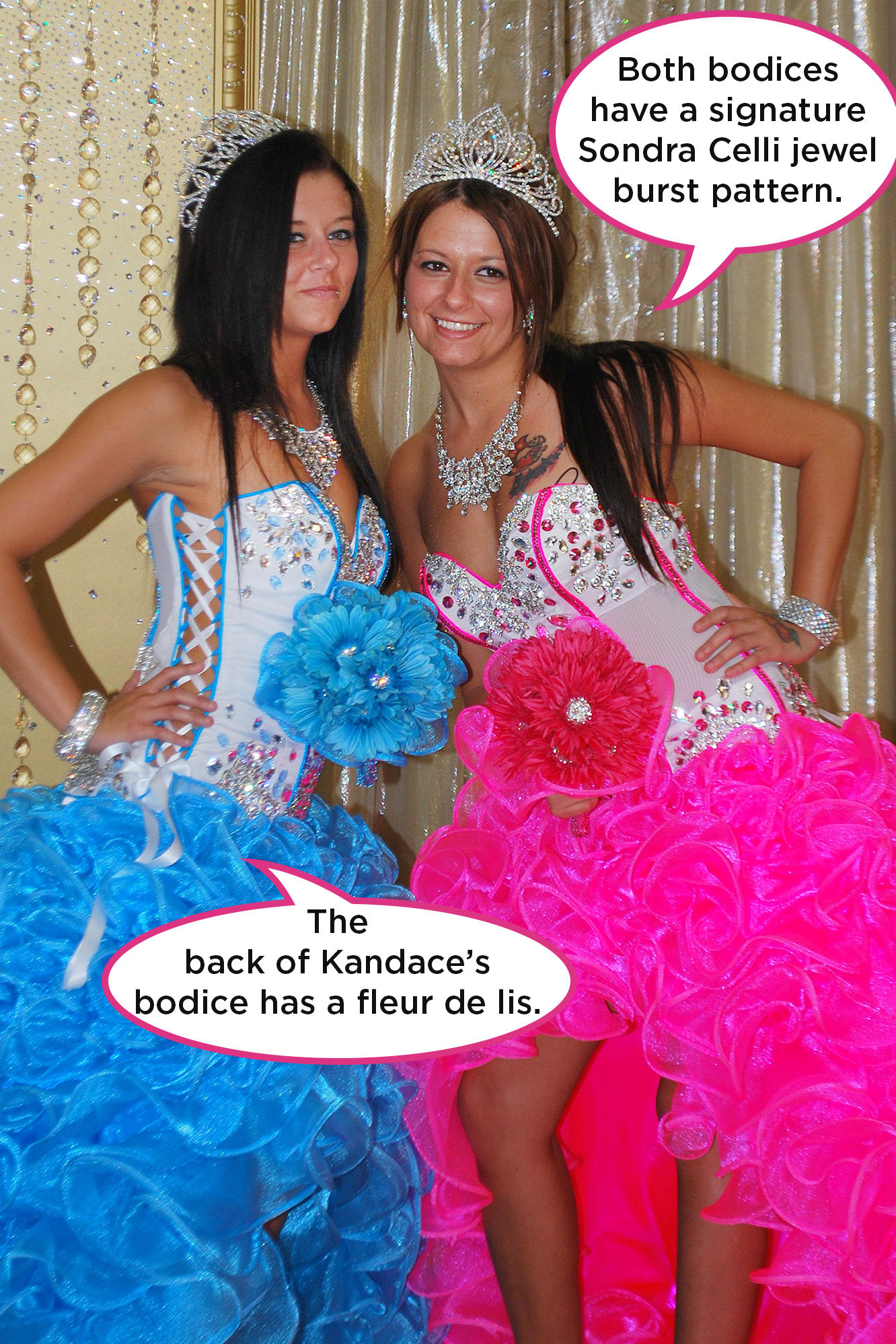 Kandace And Kaylas Bridal Bling Pop Up Pictures