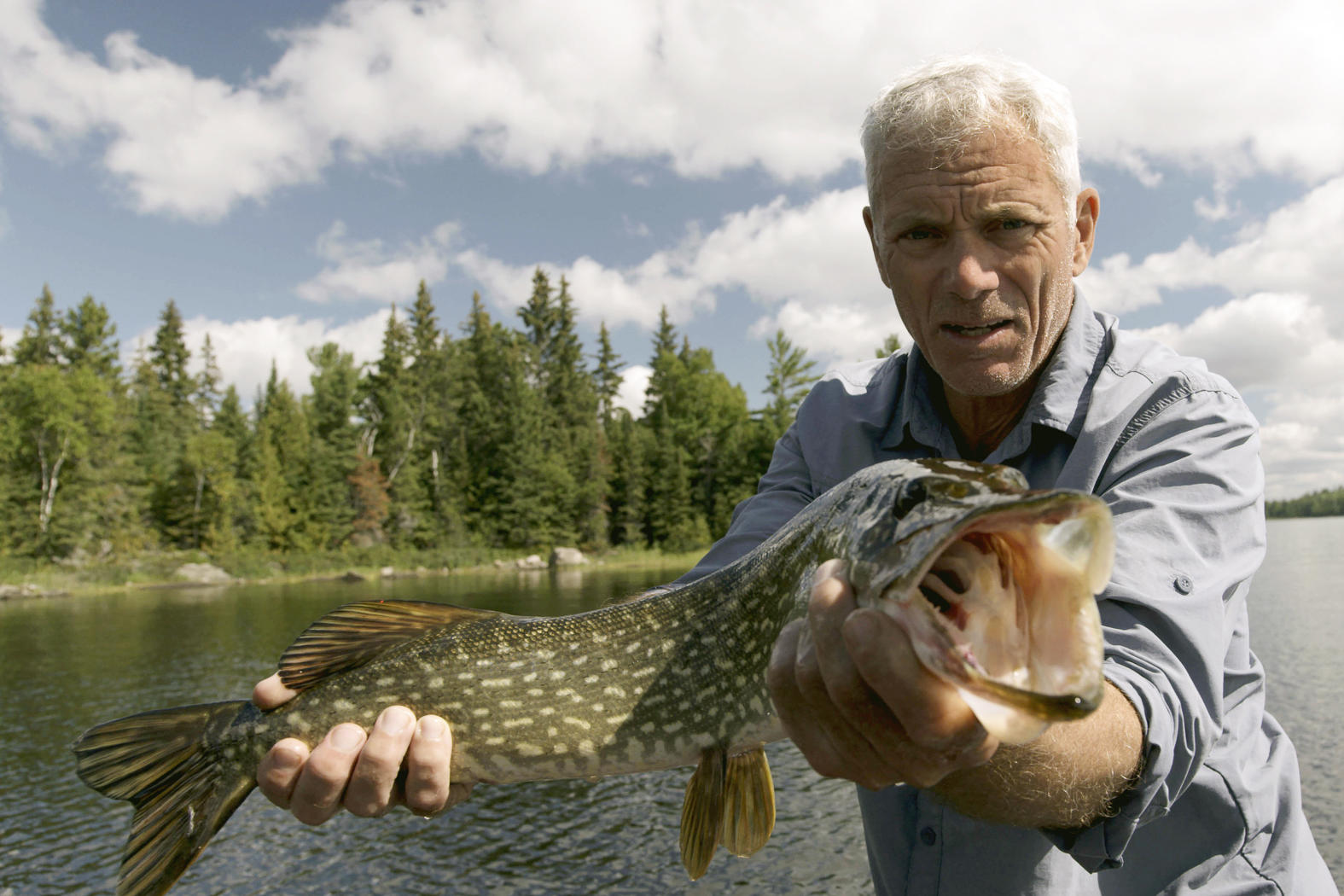 Canadian Horror Episode Photos River Monsters Animal Planet