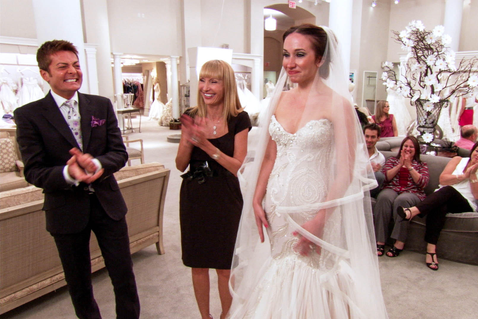 Kristis big day photo album say yes to the dress tlc kristi went to kleinfeld to find her perfect dress and chose a stunning 6600 mark zunino ombrellifo Images