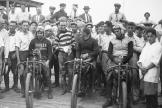 Building the Motordrome - Winners of a Motorcycle Race
