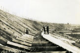 Building the Motordrome - Altoona Speedway construction