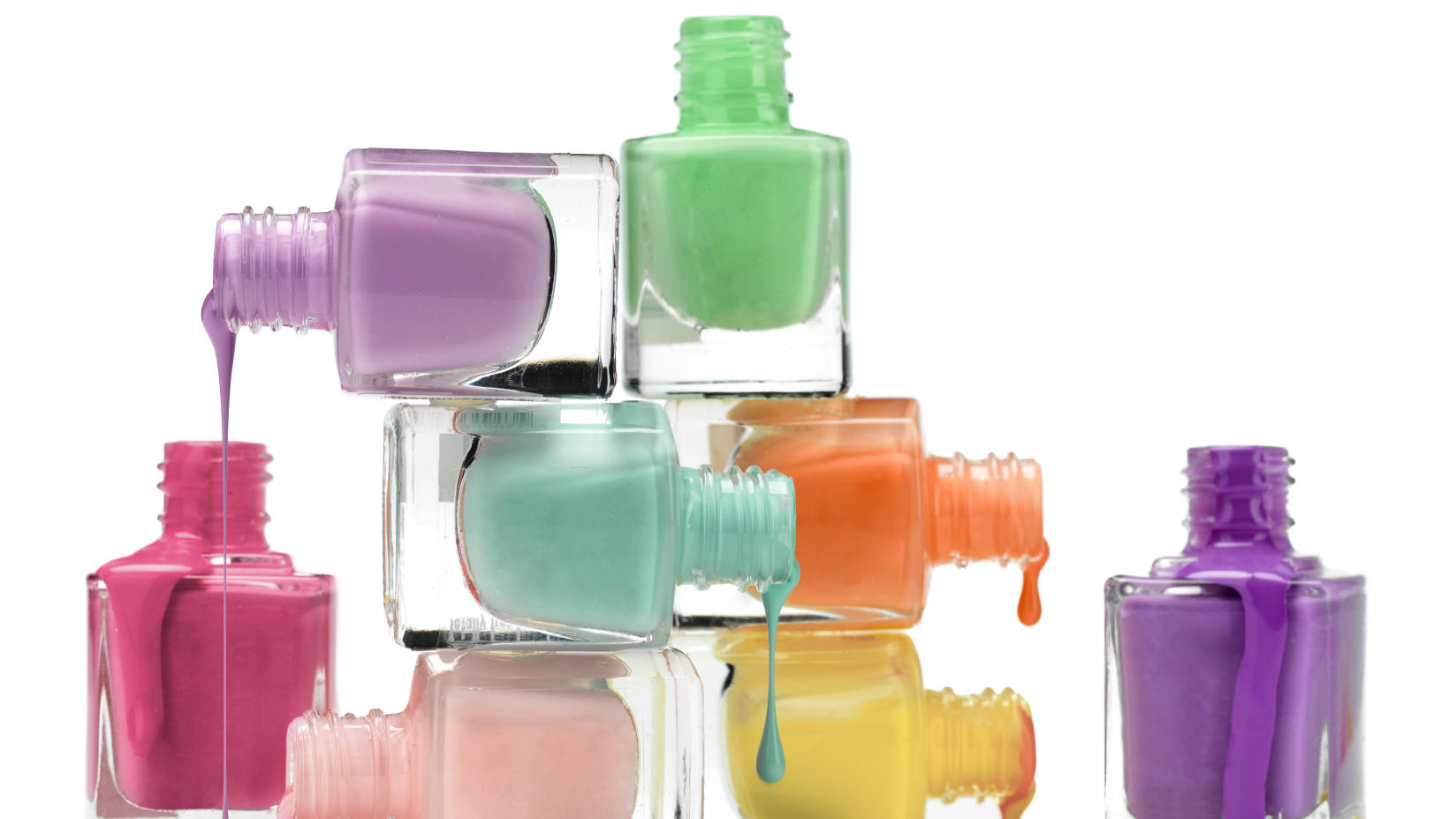 Nail polish a cheap way to upgrade your style.