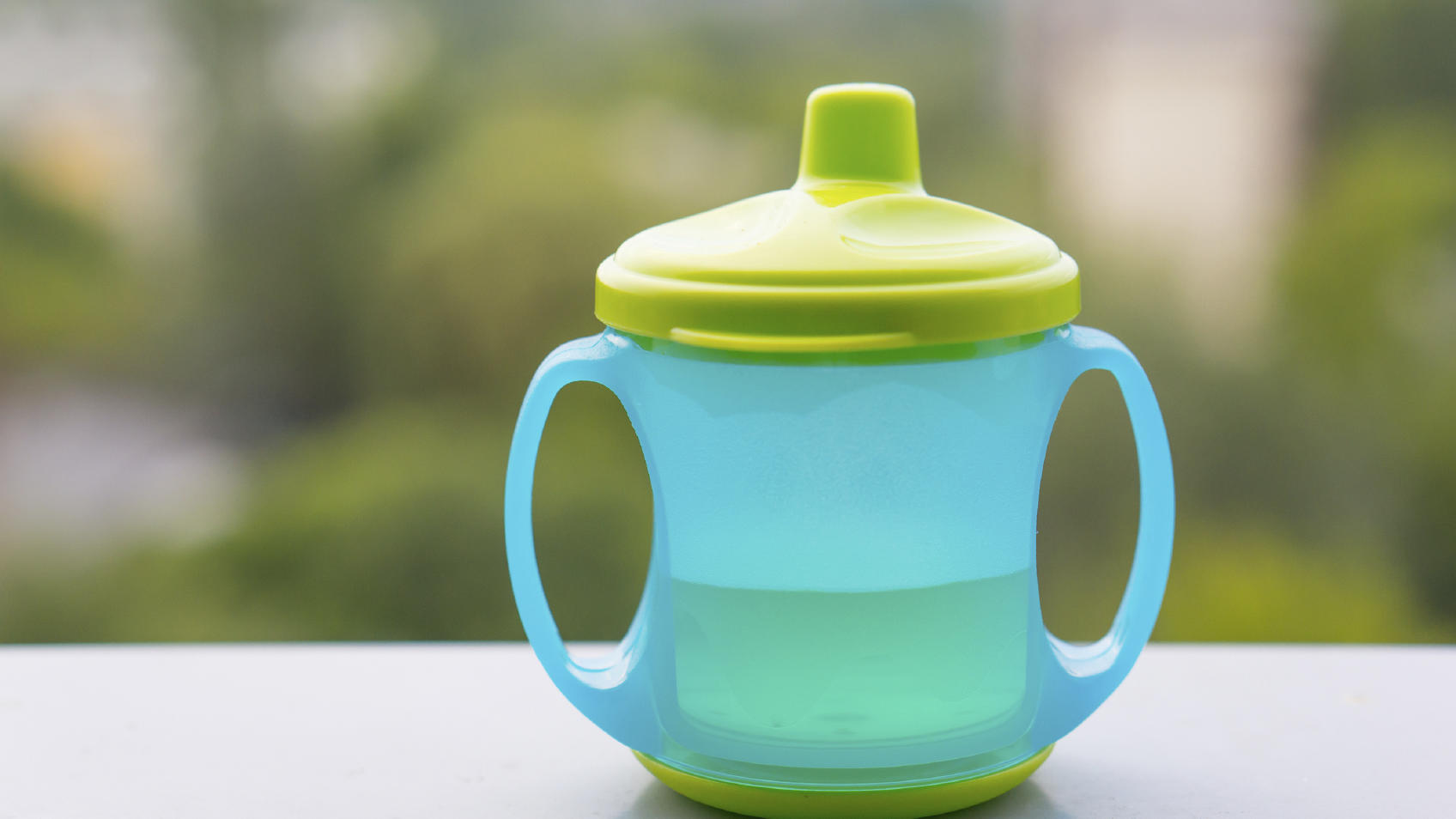 No more stinky sippy cups.