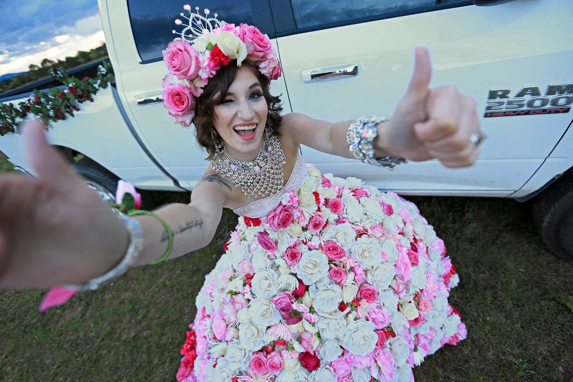 Luxury Big Fat Gypsy Bridesmaid Dresses Festooning - Wedding Dress ...