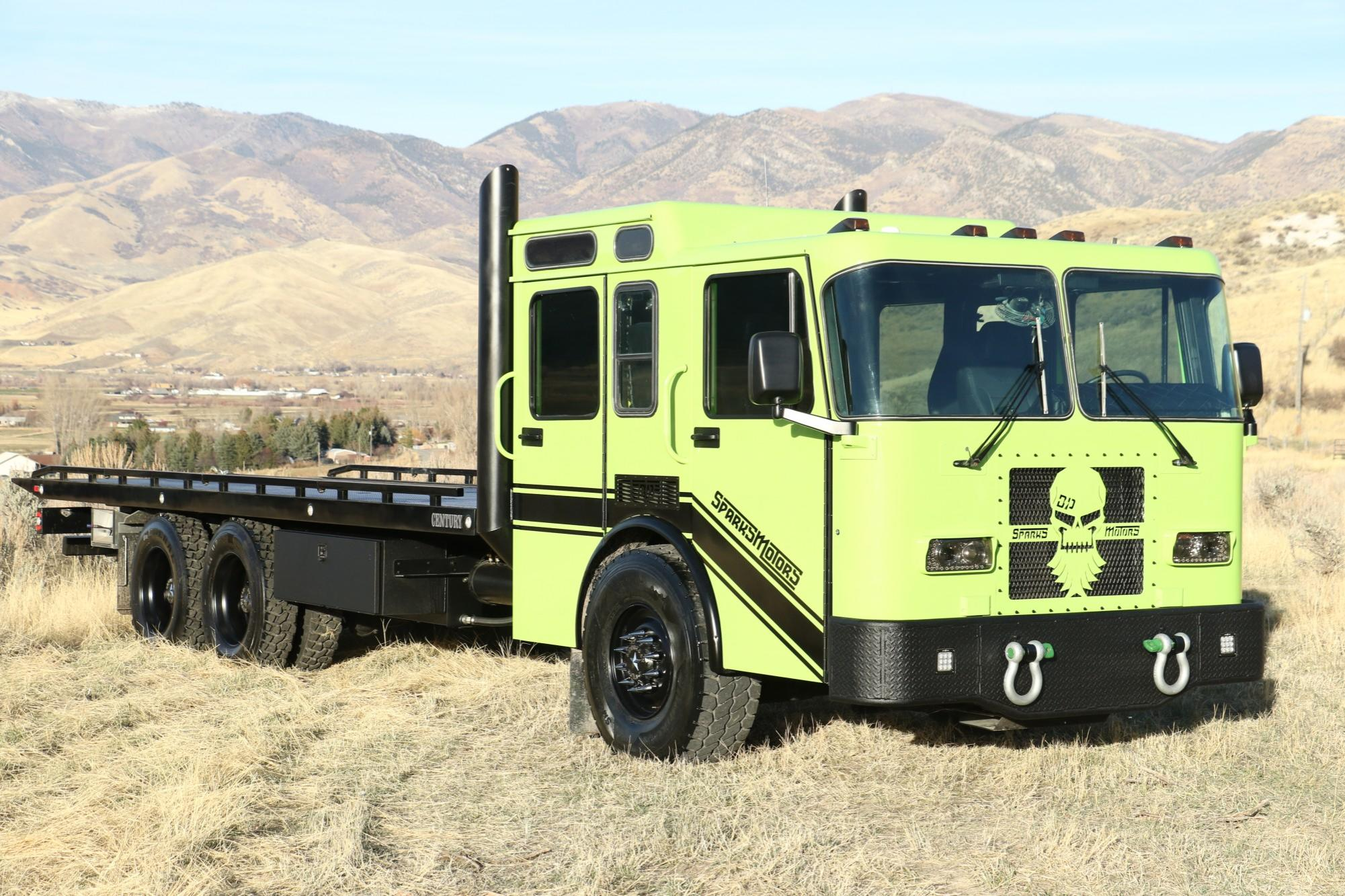 Diesel Brothers Tow Truck