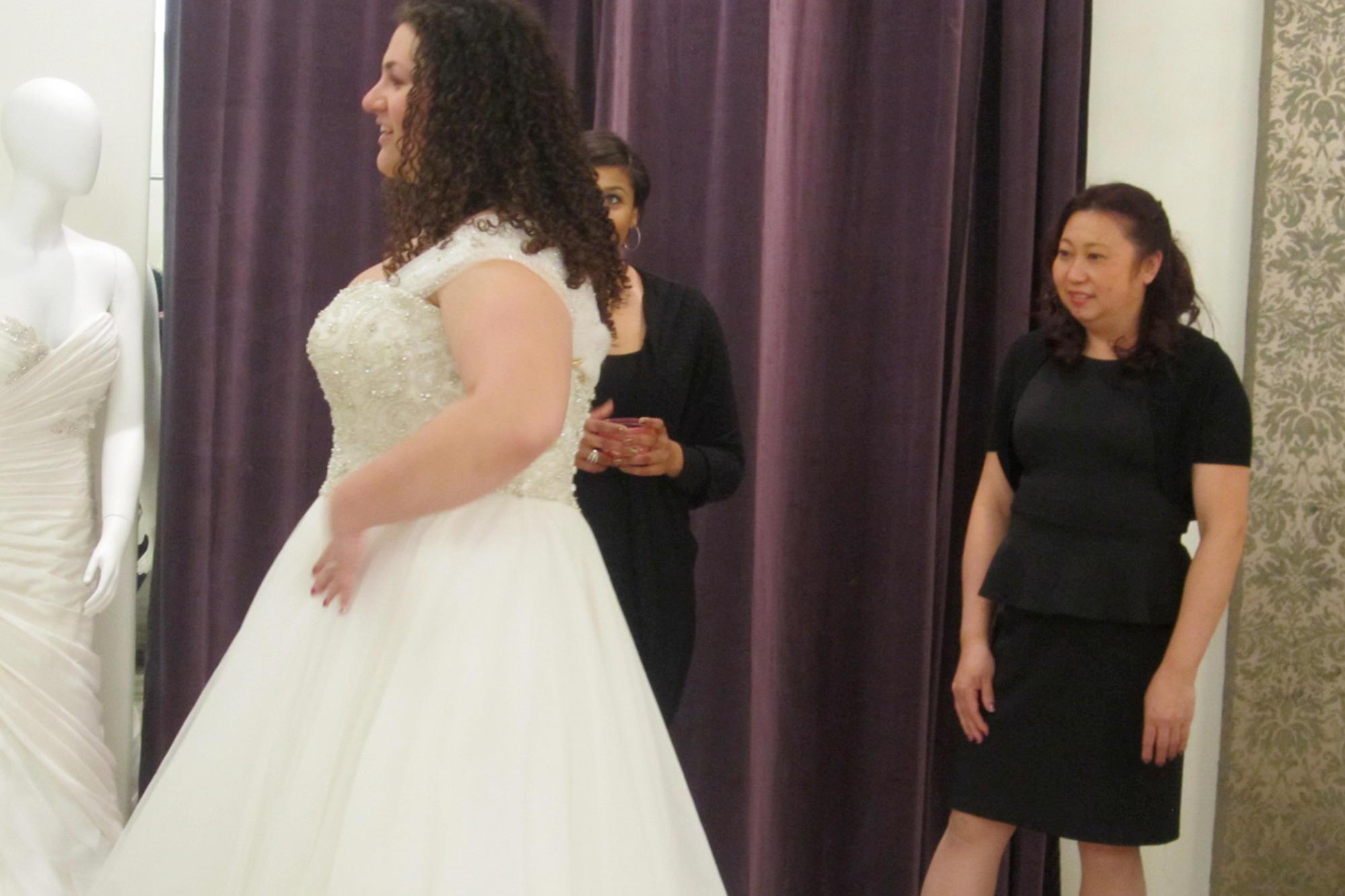 Plus-Size Wedding Dresses from Curvaceous Couture | Curvy Brides | TLC