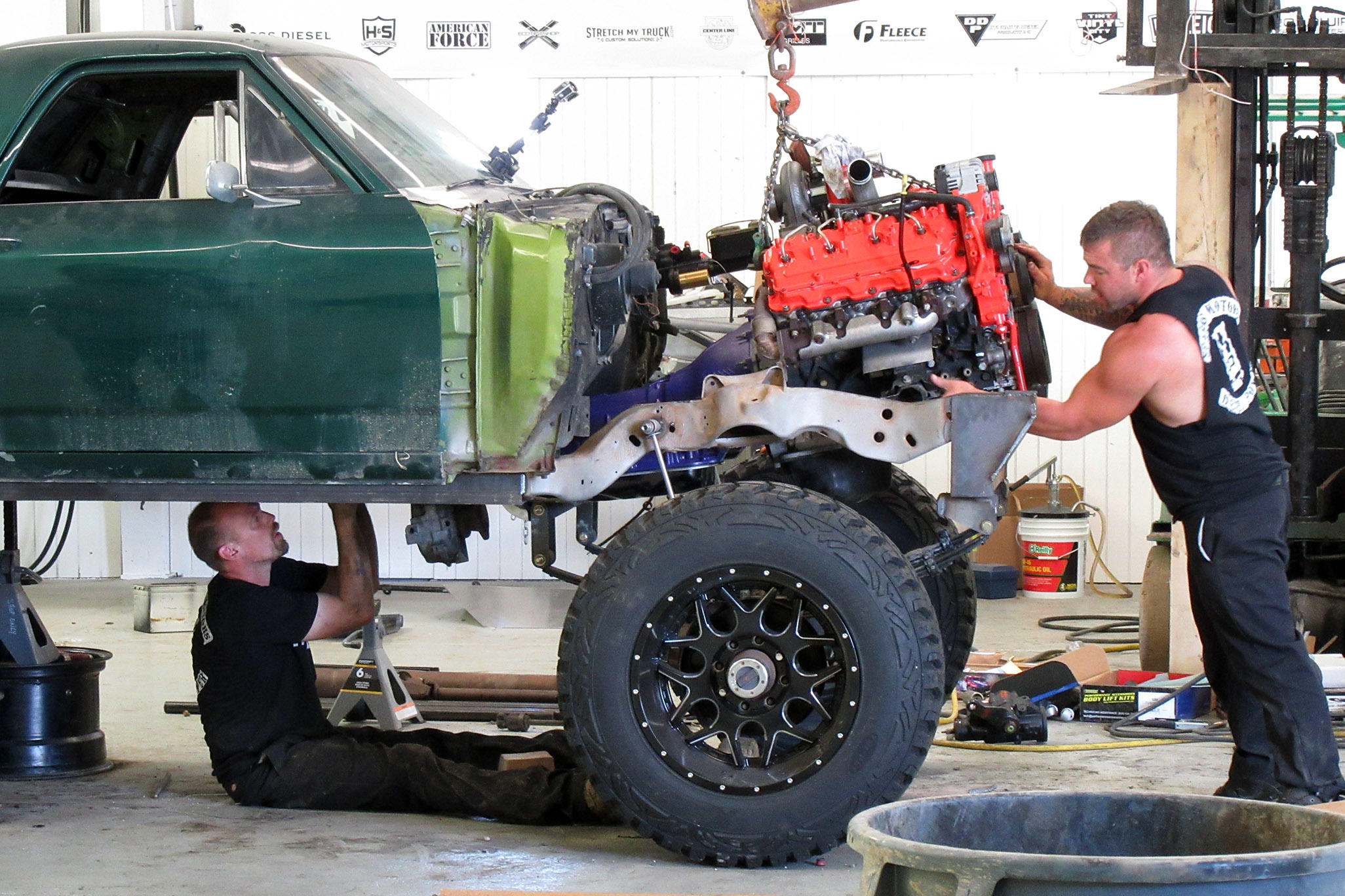 Diesel Brothers s Ford F650 and an El Camino Transformation