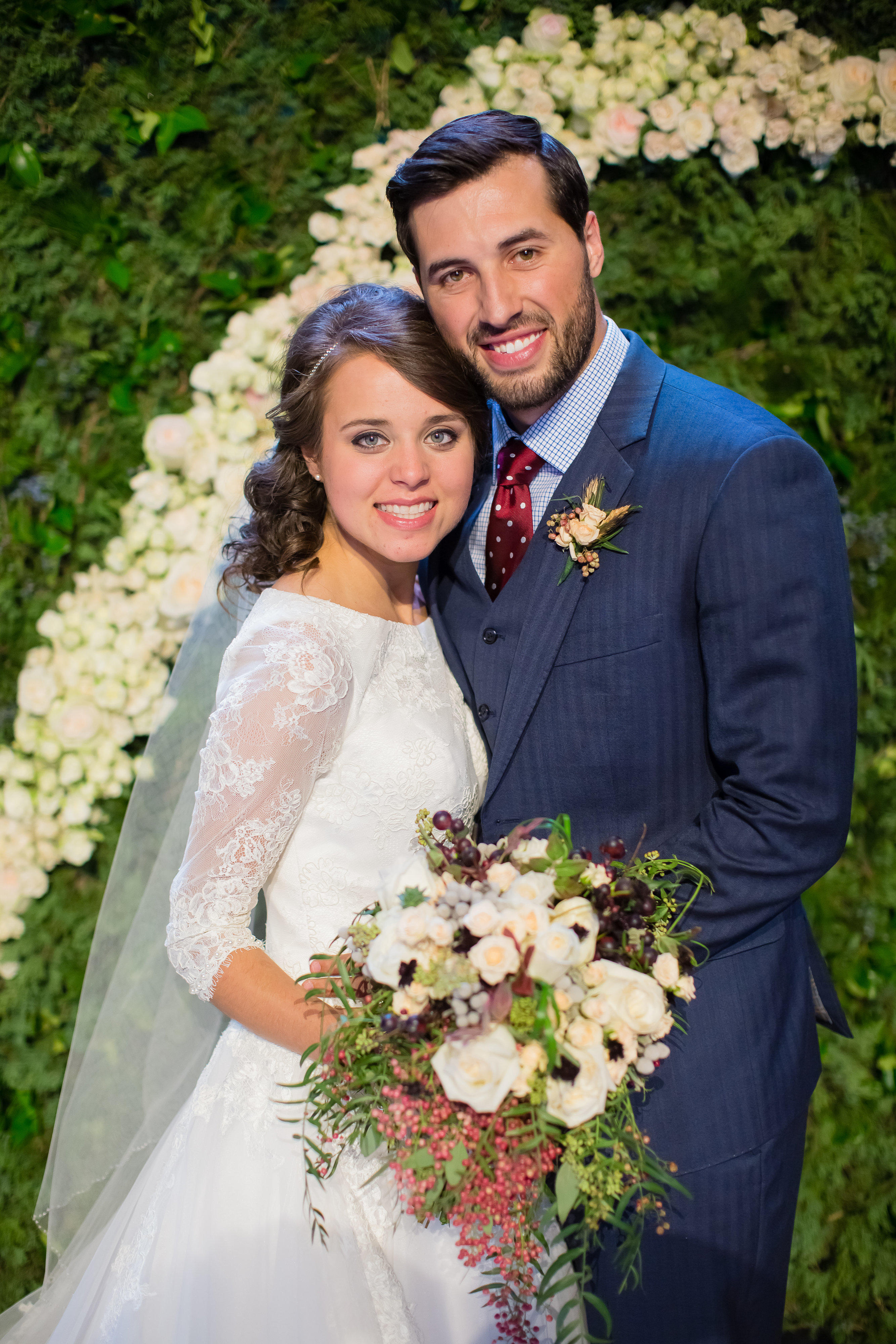 Jinger and jeremys wedding photos counting on tlc jinger duggar on her wedding day junglespirit Images