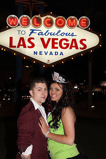 Dorothy's Vegas wedding called for an over-the-top ensemble.