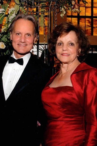 Monte Durham from Say Yes to the Dress: Atlanta with his mother, Rose. Monte describes his mother as a woman with impeccable style!
