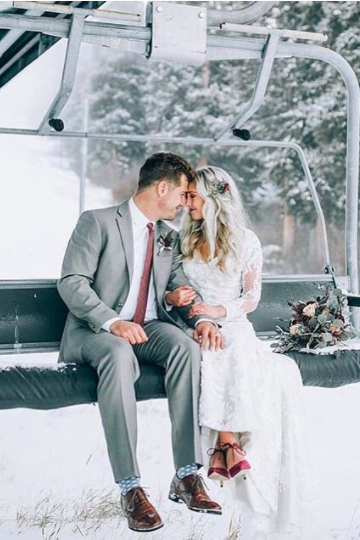 These Stunning Winter Wonderland Weddings Will Make You Want One ...
