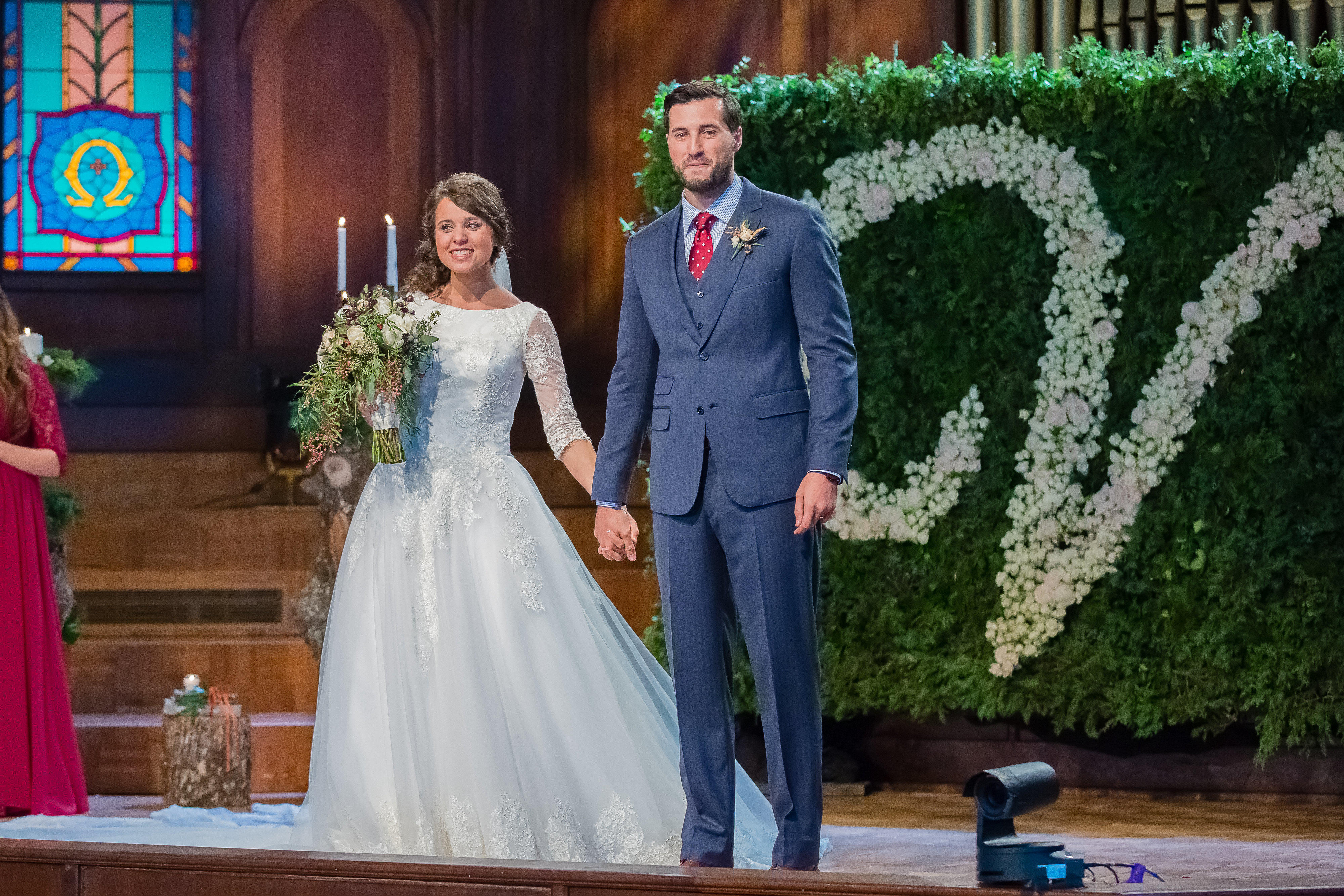 Jinger and Jeremys Wedding Photos Counting On TLC