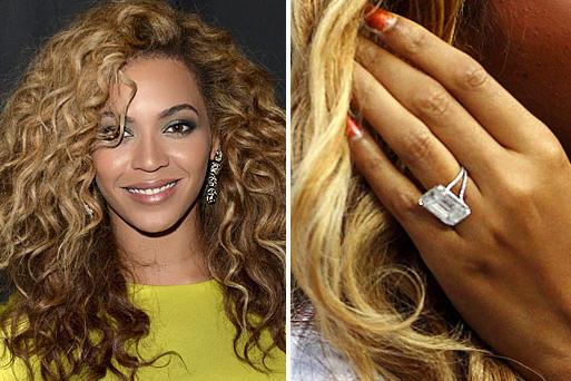 Bon Rapper Jay Z Put An 18 Carat Lorraine Schwartz Ring On Beyonceu0027s Finger Back