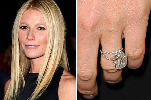 gwyneth paltrows minimalist style is reflected in her engagement ring from rocker chris martin the - Giuliana Rancic Wedding Ring