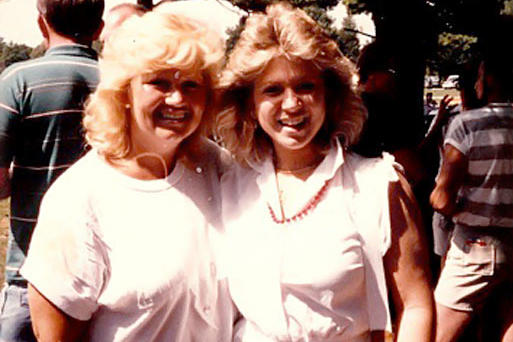 "Long Island Medium Theresa Caputo with her mother. ""My mom is everything to me. Not only is she the most amazing woman, but also my best friend. She is always there for me. She showed me the true meaning of unconditional love and what family is all about. I am the woman and mother I am today because of her! I love you, Mom!"""