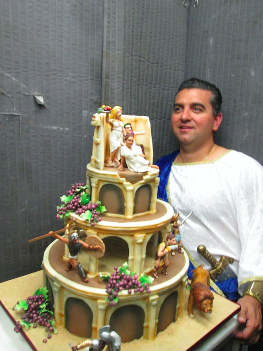 Cake Boss Decorating A Cake : cake boss