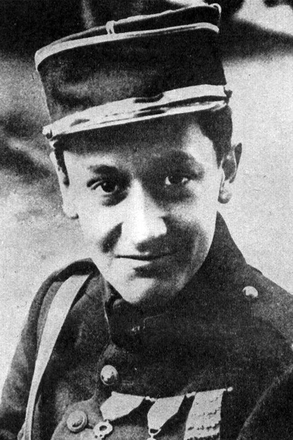 Born into an aristocratic family, French ace Georges Guynemer had 53 aerial victories after having survived being shot down 7 times himself. One day when he didn't return to base French schoolchildren were told that he flew so high he couldn't come back.