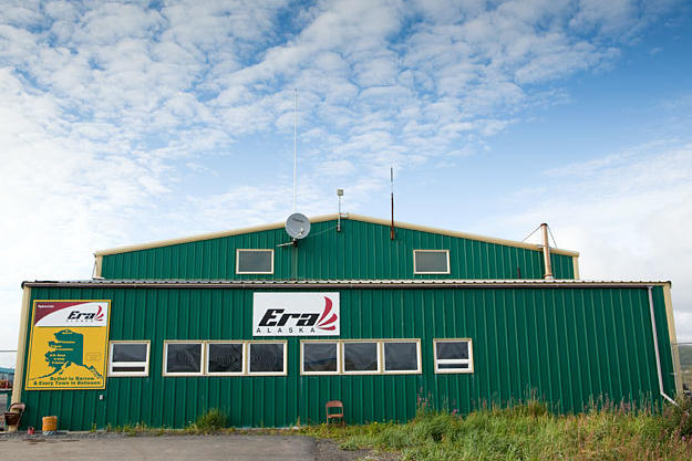 The Era Alaska headquarters at the Unalakeet airport.