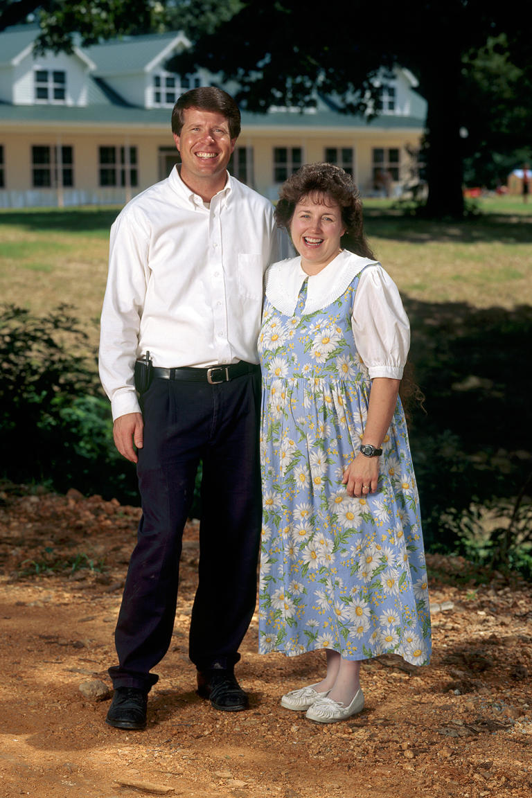 Jim Bob and Michelle in 2004.