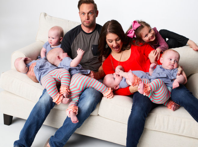 Busby family featured on TLC's OutDaughtered