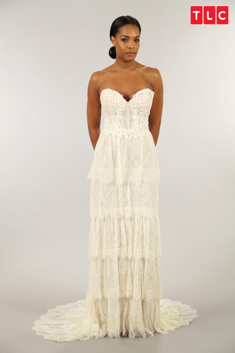 Lazaro A Line Dress