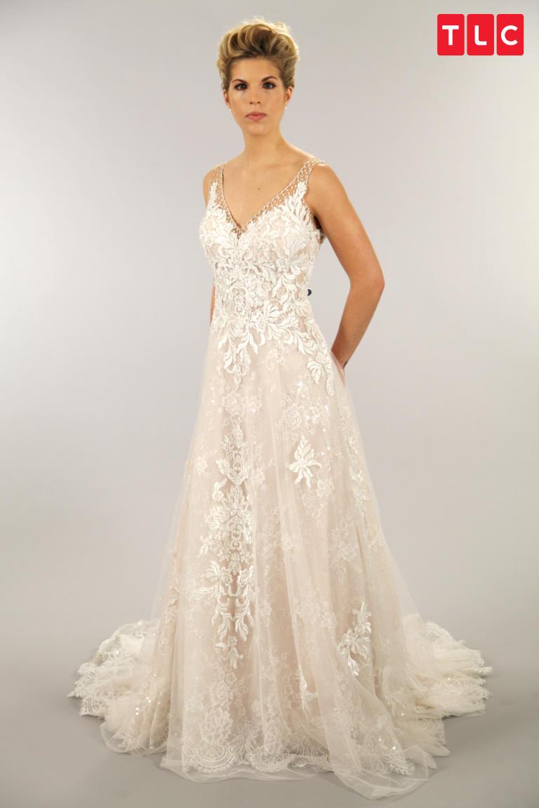 Randy Fenoli A Line Dress