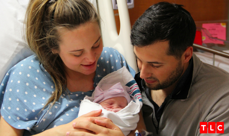 Baby Felicity Vuolo with Jinger and Jeremy